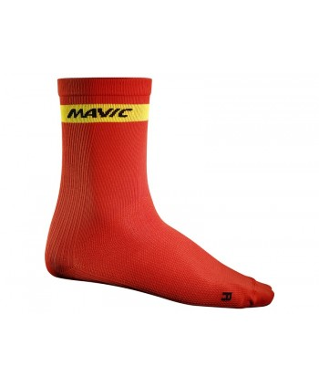CALCETINES MAVIC COSMIC HIGH ROJOS