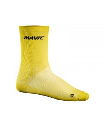 CALCETINES MAVIC COSMIC HIGH AMARILLOS