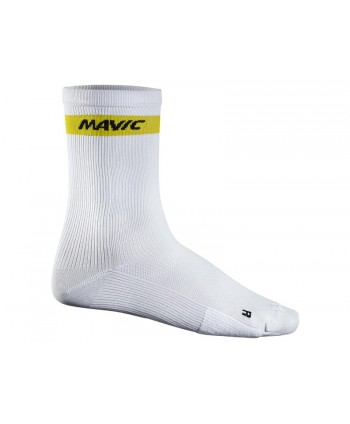 CALCETINES MAVIC COSMIC HIGH BLANCOS