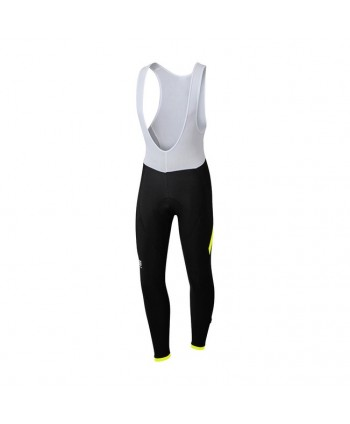 CULOTTE LARGO SPORTFUL GIRO BIBTIGHT NEGRO/AMARILLO FLUOR