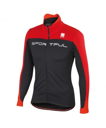 CHAQUETA SPORTFUL FLASH SOFTSHELL NEGRA/ROJA