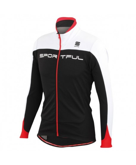 CHAQUETA SPORTFUL FLASH SOFTSHELL NEGRA/BLANCA/ROJA