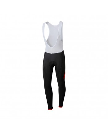 CULOTTE LARGO SPORTFUL GIRO BIBTIGHT NEGRO/ROJO