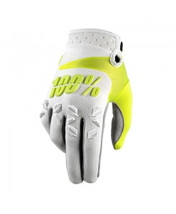 GUANTES 100% AIRMATIC BLANCOS