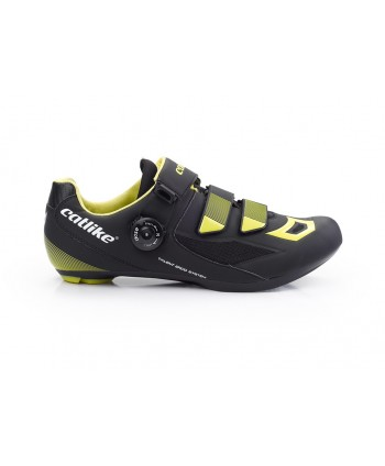 ZAPATILLAS CATLIKE CATLIKE TALENT ROAD NEGRA Y AMARILLA