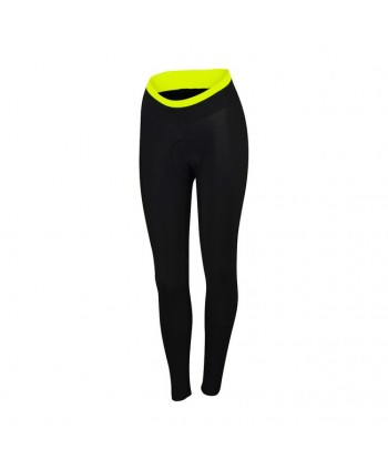 CULOTTE MUJER LARGO SPORTFUL LUNA THERMAL TIGHT NEGRO/AMARILLO FLUOR
