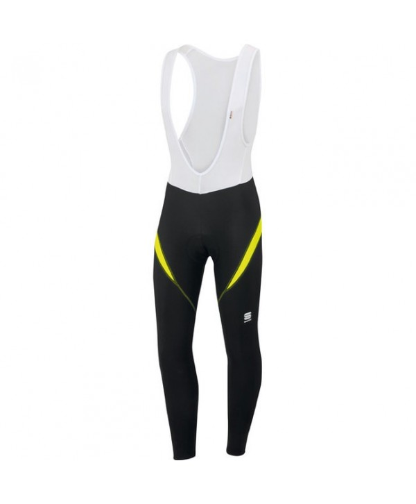 CULOTTE LARGO SPORTFUL GIRO 2 BIBTIGHT NEGRO/FLUOR